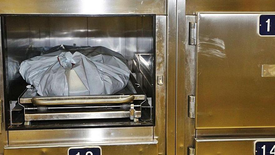 Identificat després de passar 13 anys en un congelador del dipòsit de cadàvers a València