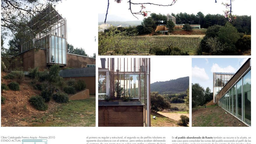 La provincia de Zaragoza luce su arquitectura contemporánea