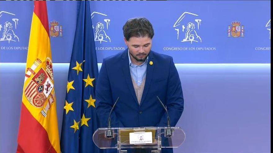 """ERC alcanza un preacuerdo con el Gobierno sobre los PGE con el fin de """"acabar con el paraíso fiscal de Madrid"""""""