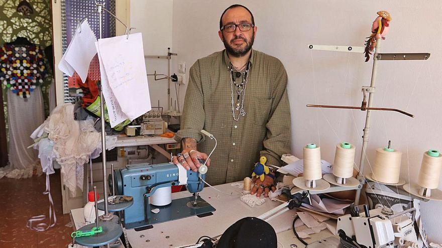 El diseñador Adlib Tony Bonet, Medalla de Oro del Consell de Ibiza