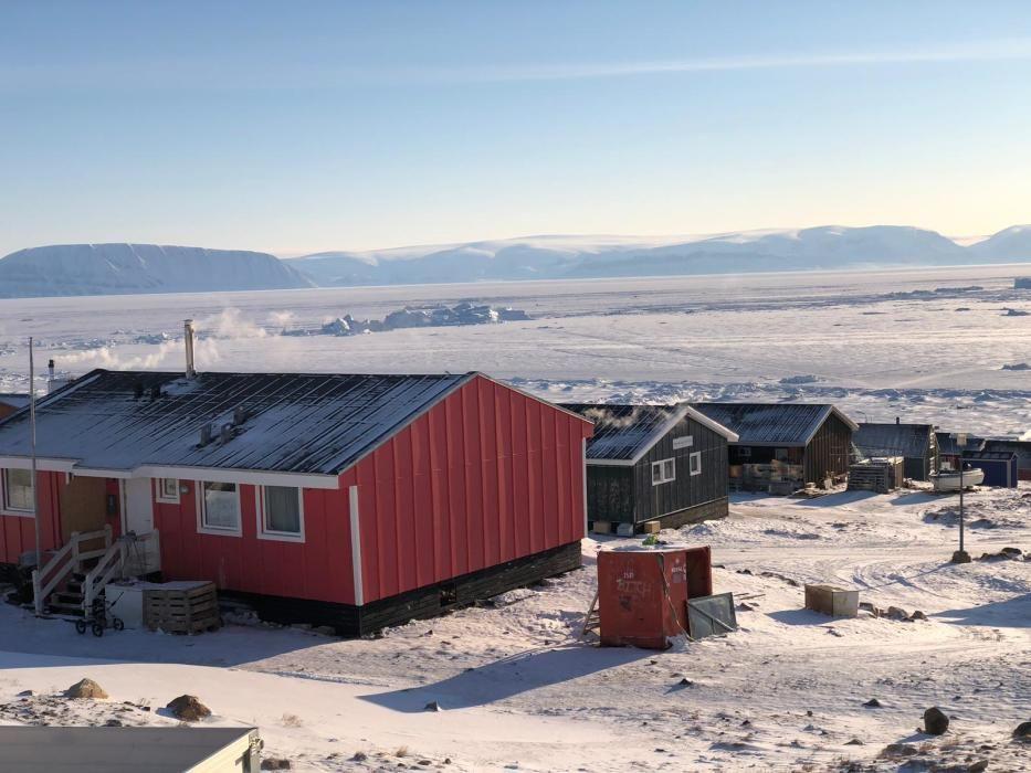 El cuarto día del Desafío Ártico lleva a Manuel Calvo hasta Qaanaaq
