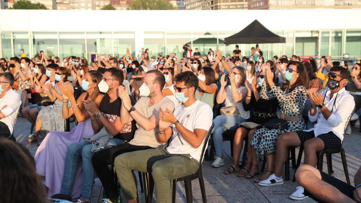Público asistente al concierto de Amaral el año pasado en el Terraceo