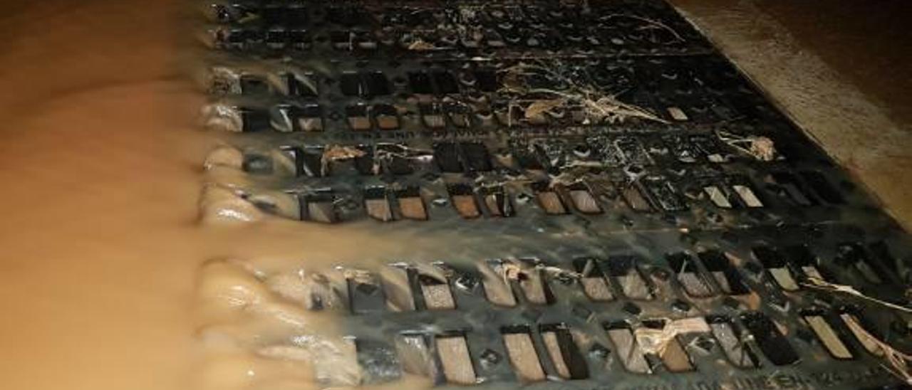 Un desagüe salva a Les Basses de una nueva inundación