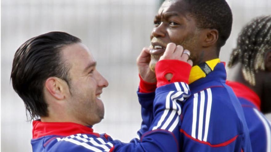 Arrestan a Cissé por chantajear a Valbuena con un vídeo erótico
