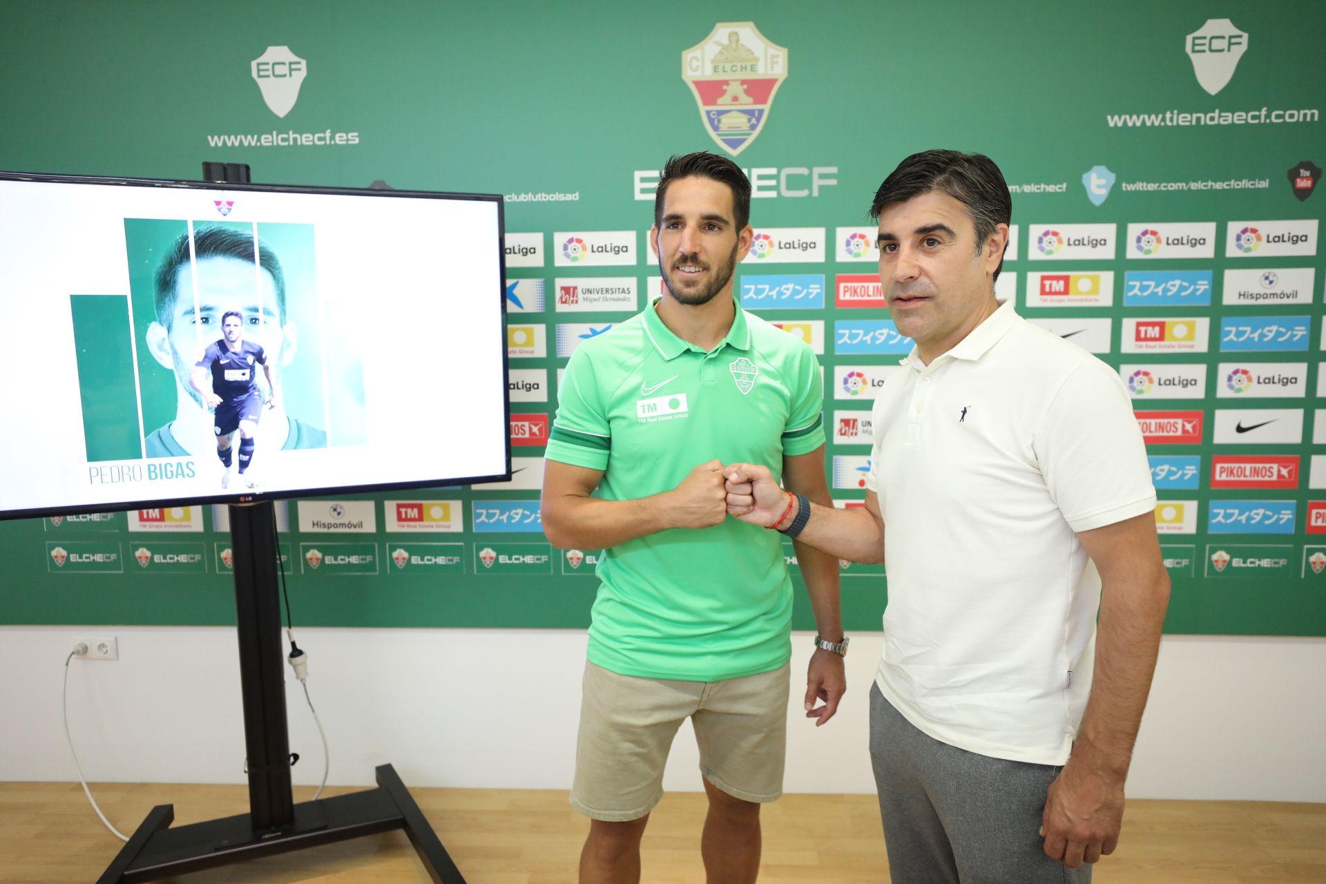 Pedro Bigas nuevo jugador Elche CF