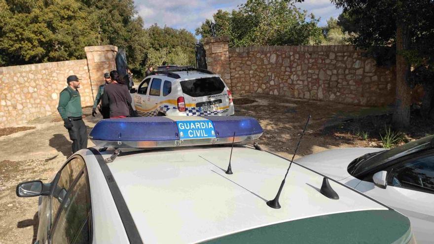Polizei räumt frühere Finca von Boris Becker auf Mallorca