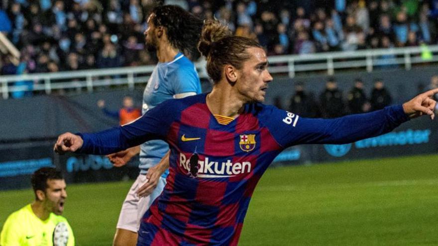 El Barça s'escapa pels pèls de l'eliminació a Eivissa (1-2)