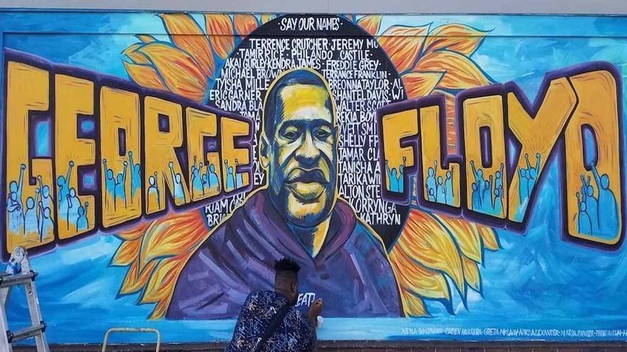 Emoción y esperanza tras el juicio por el caso de George Floyd