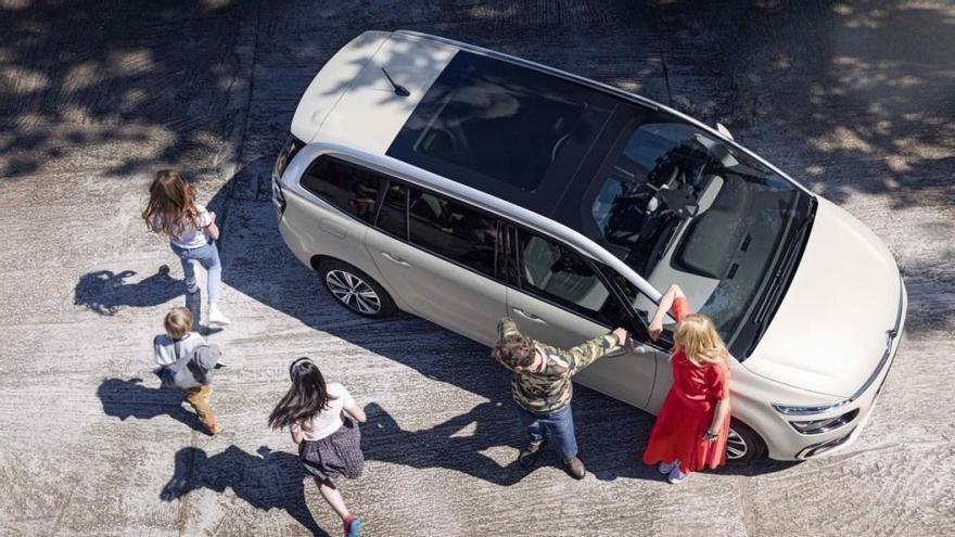 Los mejores modelos de Citroën para viajar en familia