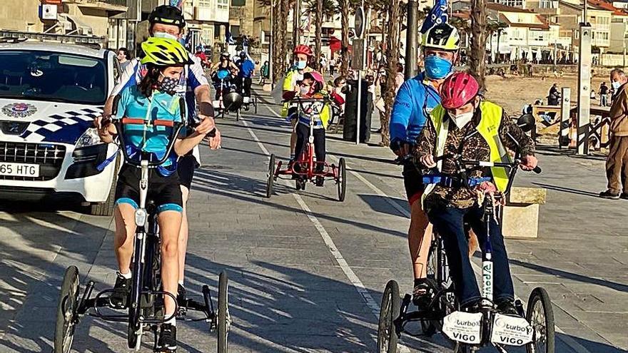 Las bicis públicas adaptadas de Nigrán vuelven a rodar