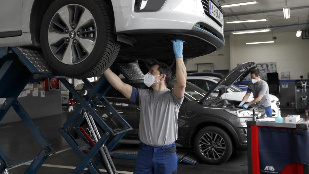 El mantenimiento del coche es fundamental.