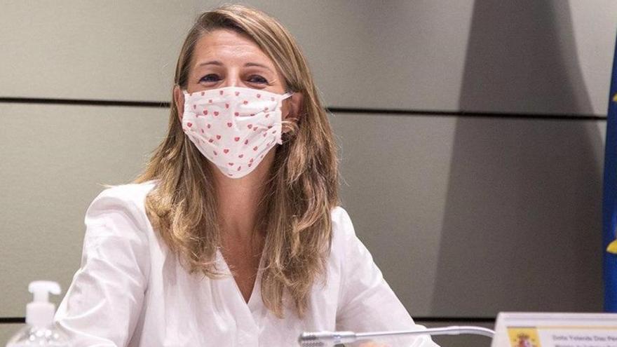 """Yolanda Díaz afirma que los ERTE se prorrogarán """"el tiempo que sea necesario"""""""