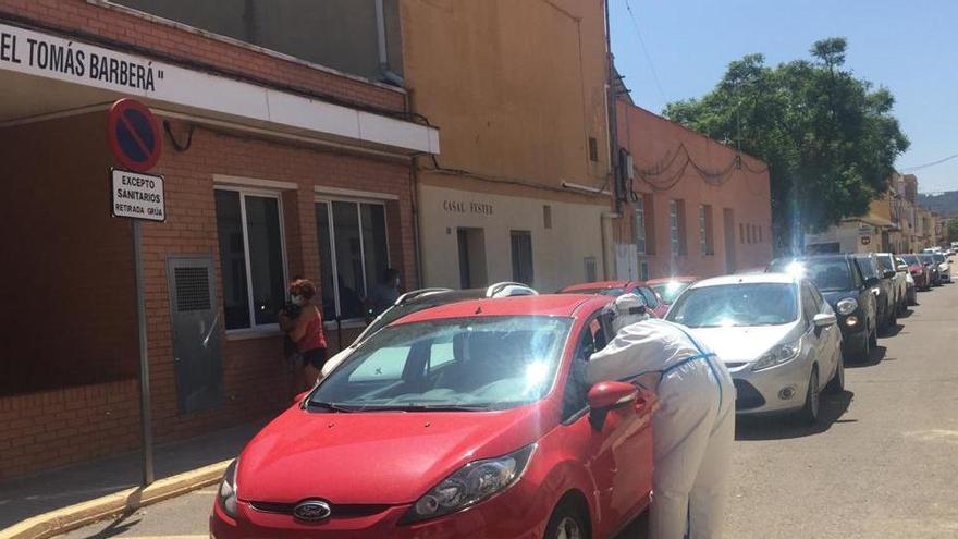 Más de medio centenar de vecinos de Bugarra se hacen la PCR tras el brote