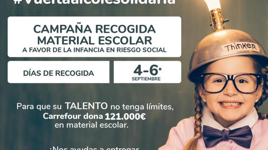 Carrefour y Cruz Roja ponen en marcha la 'Vuelta al Cole Solidaria'