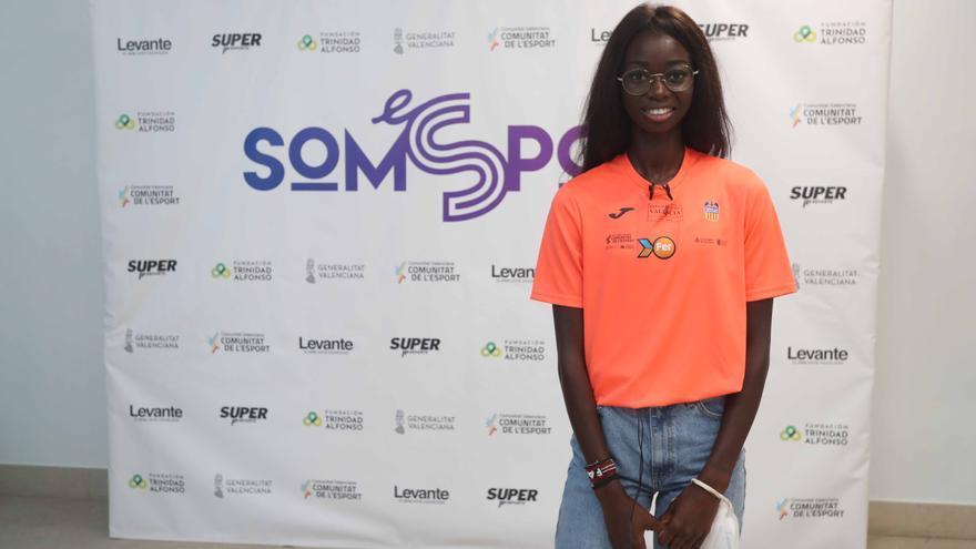 Fatima Diame comenta en SomEsport cómo logró su sueño olímpico