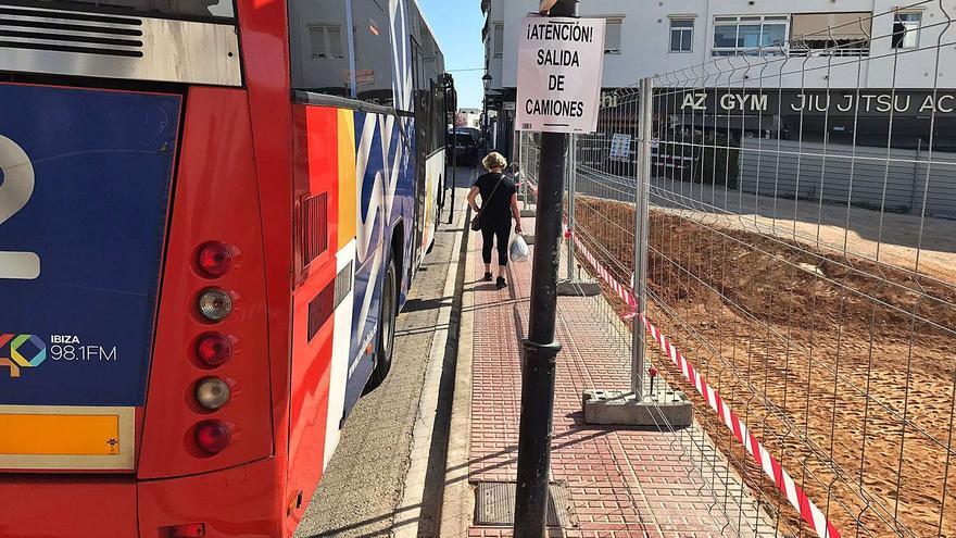 La plantilla de Voramar el Gaucho de Ibiza denuncia carencias en varias líneas de autobús