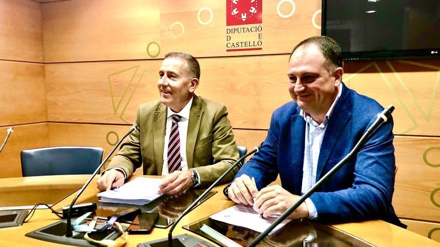 Marta Barrachina mantiene a Vicent Sales como portavoz en la Diputación de Castellón