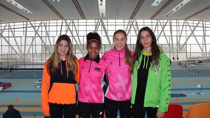 Quatre atletes locals en el Campionat d'Espana júnior
