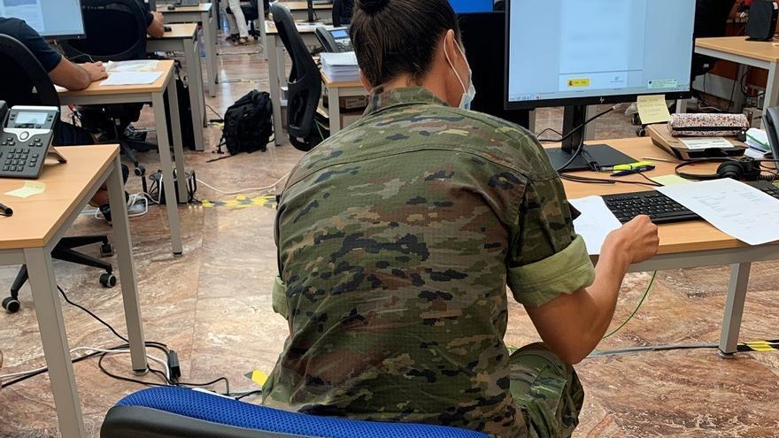 Canarias cuenta con 110 rastreadores militares para seguimiento del coronavirus