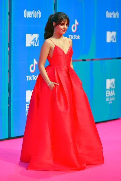La cantante Camila Cabello. (Photo by ANDER GILLENEA / AFP)