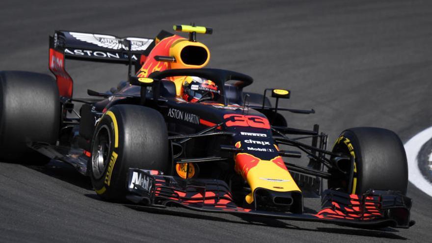 Verstappen manda en los libres y Alonso finaliza decimoséptimo en Alemania