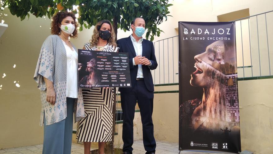 Espectáculos y visitas que encienden Badajoz