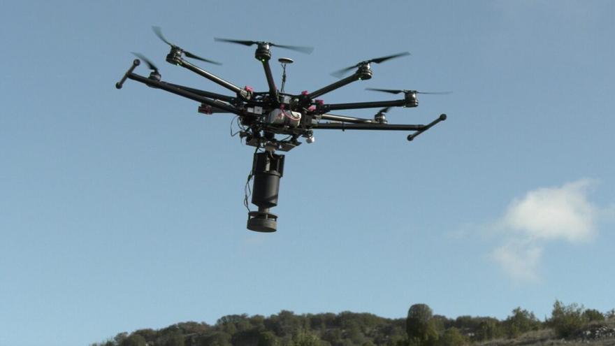 Empiezan a sembrar con drones 21 futuros bosques en toda España