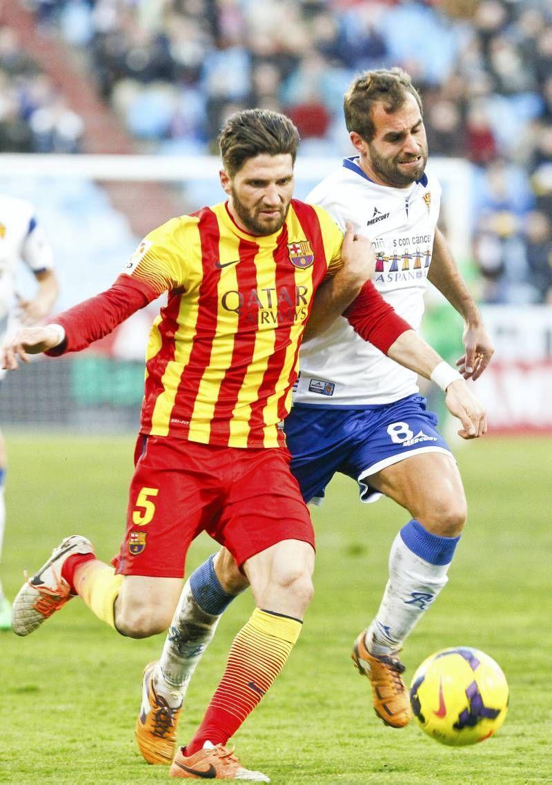 Fotogalería: Real Zaragoza-Barça B