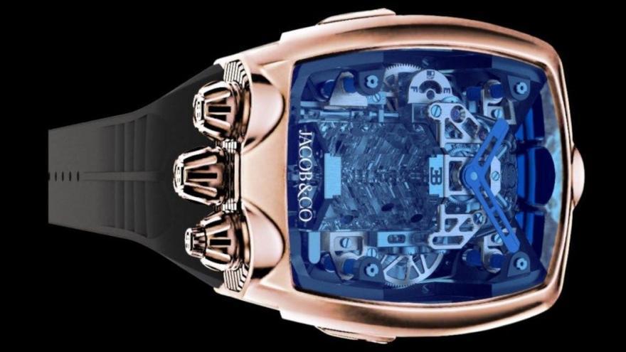 Bugatti mete el motor del Chiron en un reloj