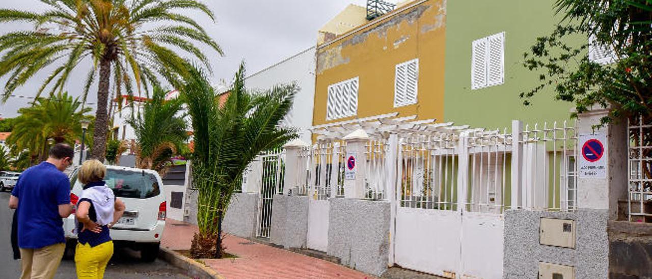 Casas de la colonia ICOT, en el barrio de Ciudad Jardín.