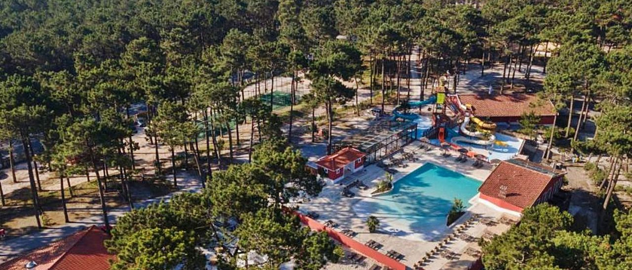 Un «glámping» de Sunny Resorts en Nazaré (Portugal), similar al que pretende construir en Gandia.   | LEVANTE-EMV