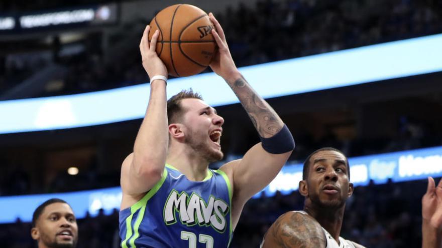 Doncic, elegido en el quinteto ideal de la temporada de la NBA en su segundo año