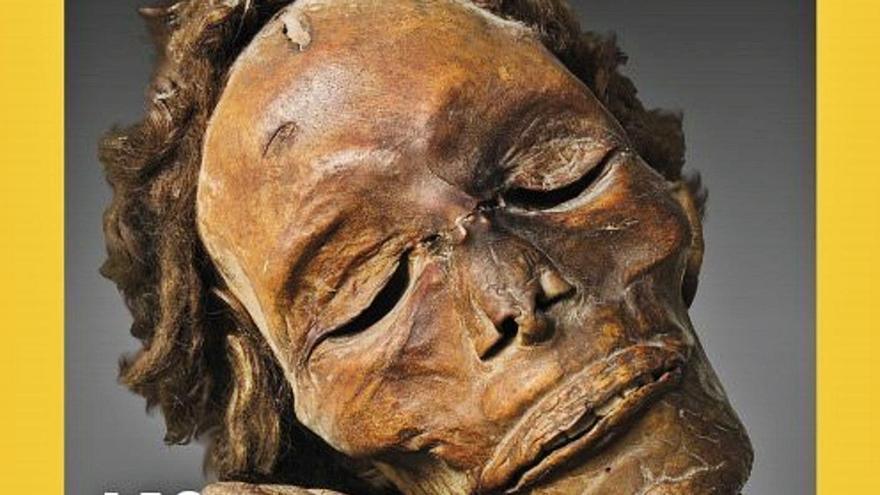 La prestigiosa publicación se hace eco de la historia de Canarias y presenta, a página completa, una foto de una momia guanche. Lo cierto es que este «enigma de los ancestros canarios» ha atraído la atención de muchos investigadores y curiosos.
