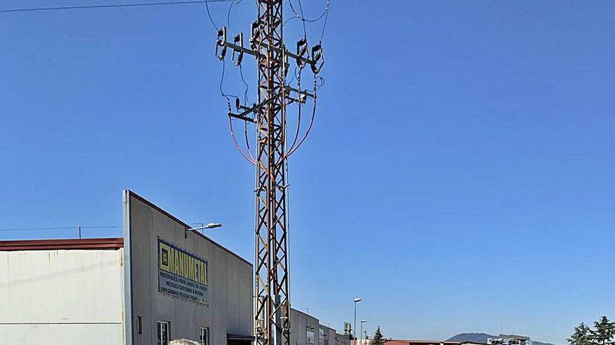 Los nuevos accesos al polígono de La Meana, otro paso en la apuesta industrial de Siero