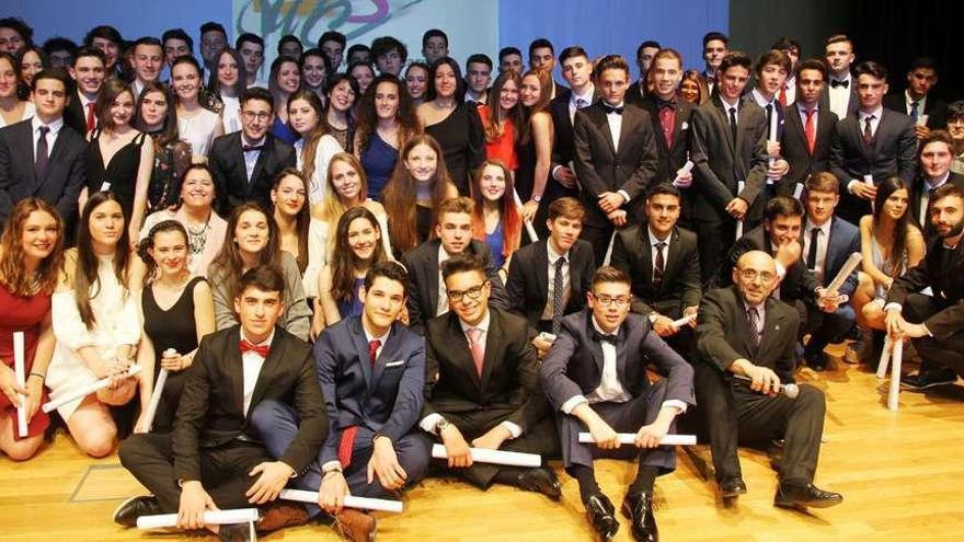 Graduación de segundo de bachillerato del María Casares