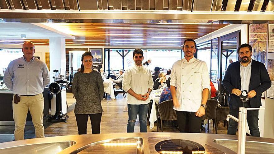 Éxito de las jornadas culinarias de Flanigan con Jaume Vicens y Maties Miralles
