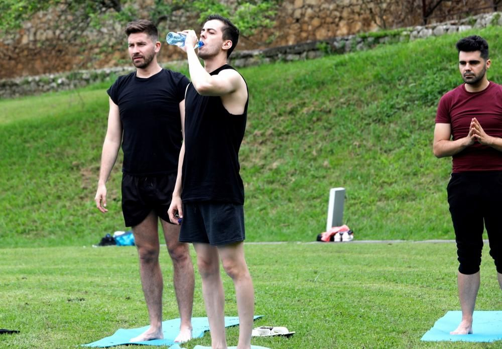 Actividades del día del yoga en Las Caldas