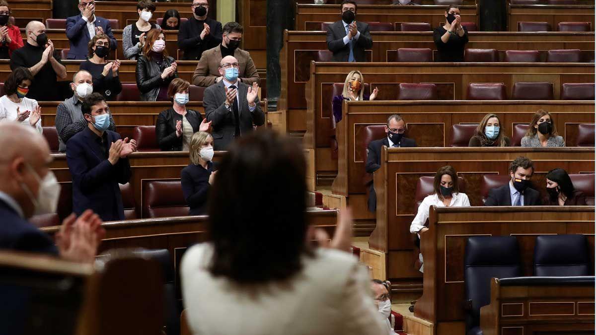 El Congreso rechaza el negacionismo de Vox con la violencia machista