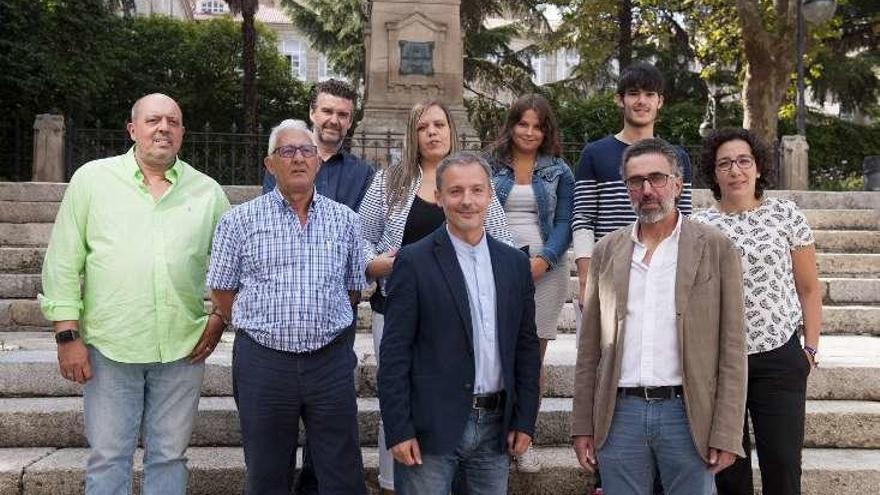 La cúpula de Compromiso por Galicia visita Martín Códax