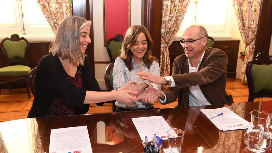 PSOE, Marea y BNG pactan un presupuesto de 260 millones para el próximo año