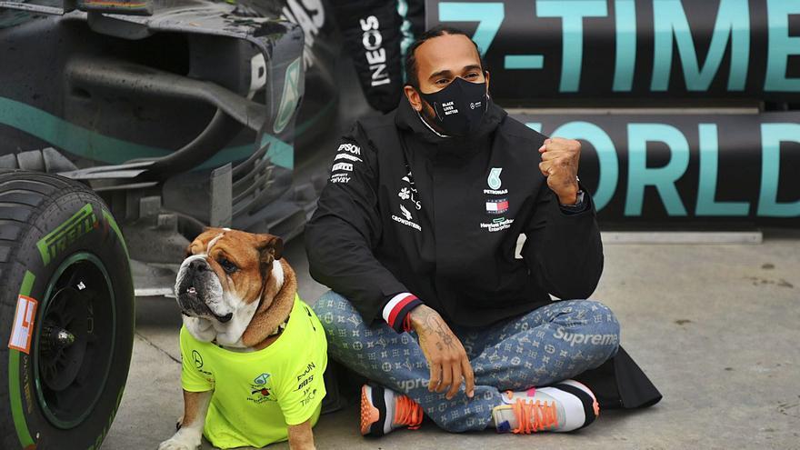 Hamilton iguala a Schumacher