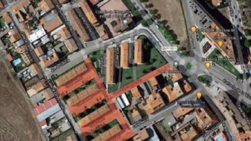 La reurbanización de varias calles del barrio San Isidro de Benavente comienza el próximo lunes