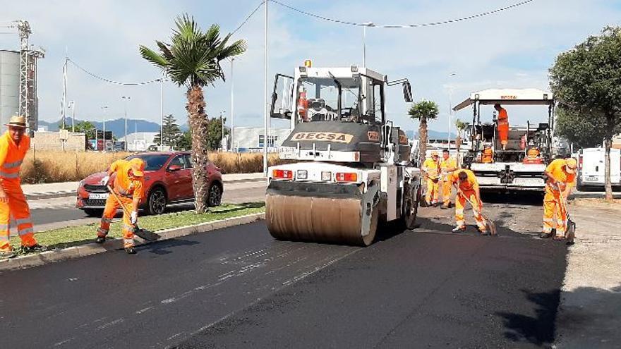 Vila-real mejora el firme de las vías con más tráfico