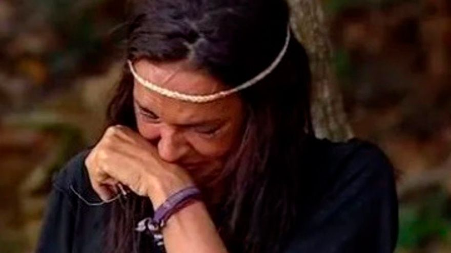 """Olga Moreno se hunde en lágrimas en Supervivientes: """"Necesito a mi hija"""""""
