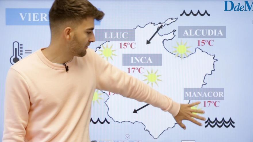 El tiempo del fin de semana en Mallorca: Primavera adelantada