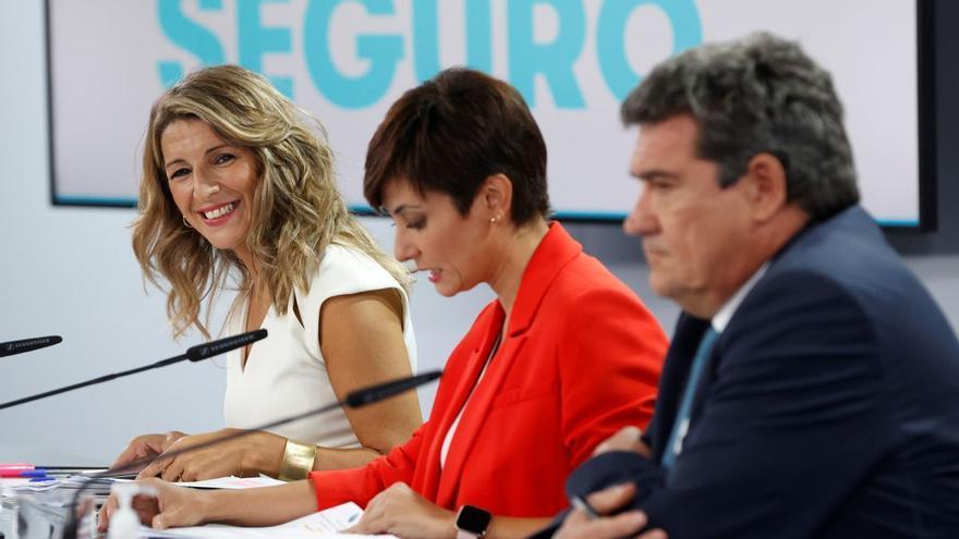 El Consejo de Ministros aprueba la subida del Salario Mínimo Interprofesional hasta los 965 euros