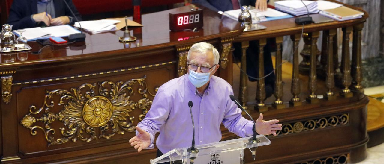 El alcalde Joan Ribó ha presentado la Misión València Ciudad descarbonizada en 2020