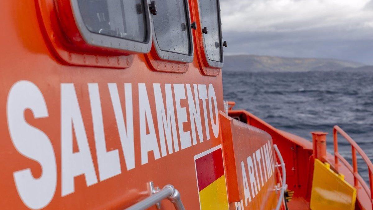 Salvament Marítim ha intervingut en el cas.