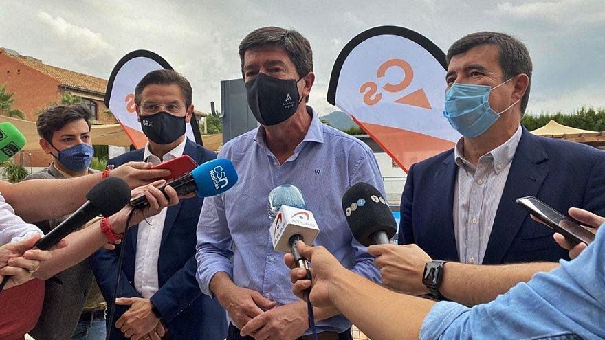 Marín cree «errónea» la salida de Cs del gobierno de Jaén