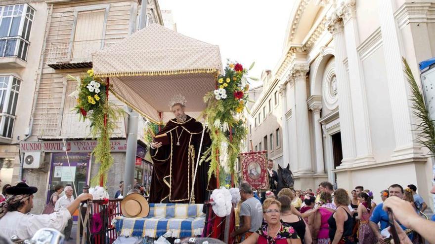 Mañana comienzan las fiestas del patrón San Ginés con un pasacalles por su barrio